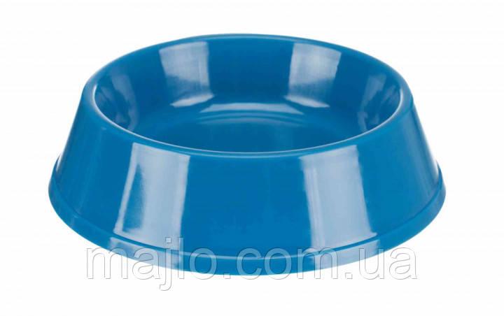 Миска (пластик) для кішок 0,2 л*12см TX-2470