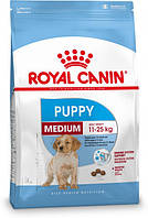 Сухой корм Royal Canin Medium Puppy для щенков средних пород до 12 месяцев 1 кг
