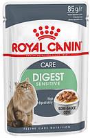 Упаковка влажного корма для котов от 1 года с чувствителльным пищеварением Royal Canin Digest Sensitive в, фото 1
