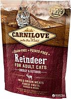 Carnilove Cat Energy & Outdoor 0.4 kg північний олень (для активних)