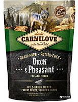Carnilove Adult Duck & Pheasant 1.5 kg (д\дорослих собак з качкою і фазаном) (8595602508877)