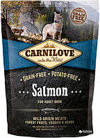 Carnilove Adult Salmon 1.5 kg  (д\взрослых собак с лососем) (8595602508914)