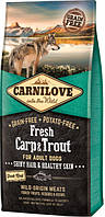 Carnilove Fresh Carp &  Troup for Adult dogs 1.5 kg (д\взрослых союак с карпом и форелью) 8595602527533