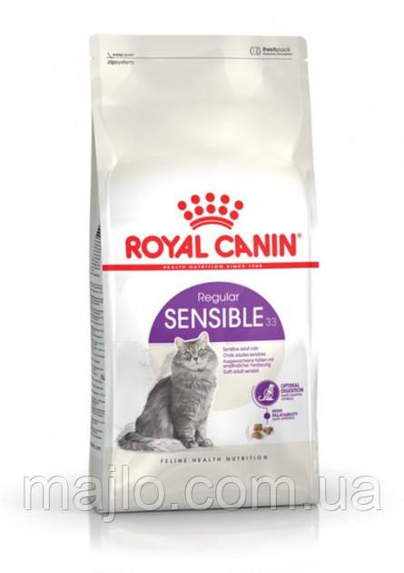Сухий корм для котів від 1 року з чутливим травленням Royal Canin Sensible 2 кг