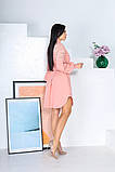 Свободное платье с гипюровыми вставками 50-502, фото 8