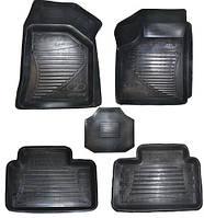Коврики резиновые ВАЗ 2110-2112, Priora в салон под ноги (5шт. с перемычкой) Автоваз