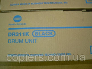 DR311 K фотобарабан Drum Unit Bizhub C360 C280 C220 оригинал Konica Minolta, A0XV0RD