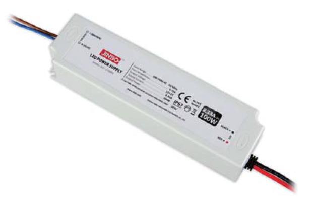 Блок живлення 24 вольт 100Вт JLV-24100PA герметичний IP67 JINBO 15299
