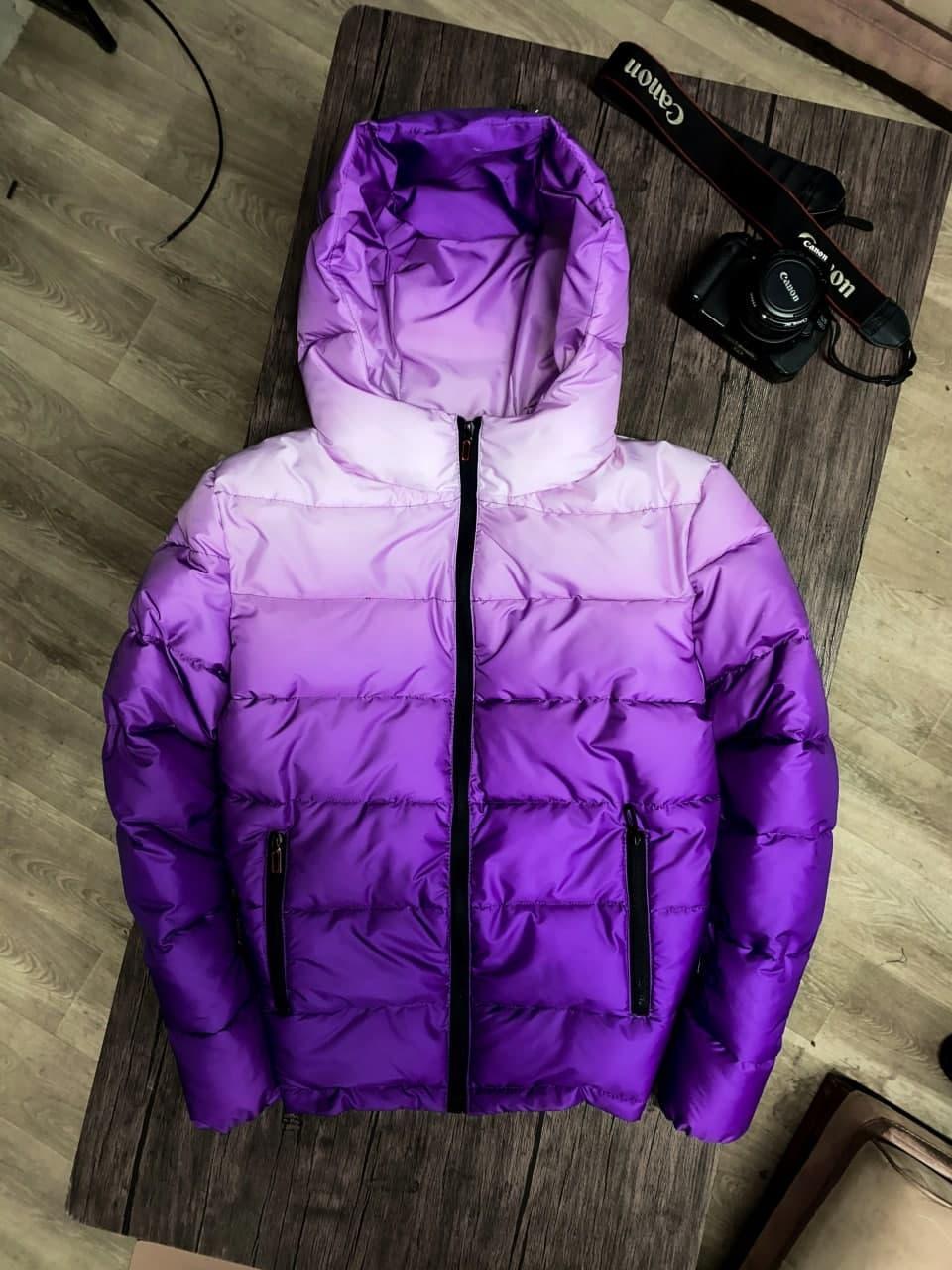 😜 Куртка - Мужская куртка с капюшоном / чоловіча куртка з капюшоном фіолетова