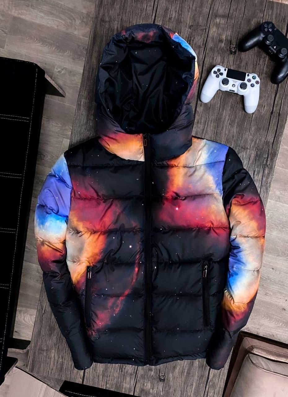😜 Куртка Чоловіча куртка з капюшоном / чоловіча куртка з капюшоном космос