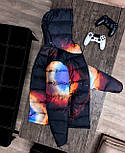 😜 Куртка Чоловіча куртка з капюшоном / чоловіча куртка з капюшоном космос, фото 2