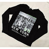 Лонгслив Нью-Йорк H&M на девочку, фото 3