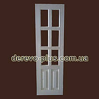 Двері з масиву дерева 60см (під скло) s_1060