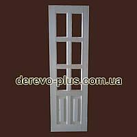 Двери из массива дерева 80см (под стекло) s_1060