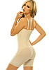 Утягивающий комбидресс для коррекции фигуры Slim Shapewear с бретельками (телесный) /  Размер (XXXXL), фото 3