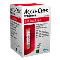 Accu-Chek® Performa Тест полоски 10 шт
