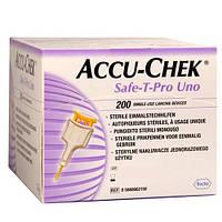 Accu-Chek® Safe-T-Pro Uno Прокалыватели 200 шт