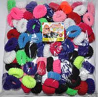 Резинки махровые для волос Калуш (100 шт)