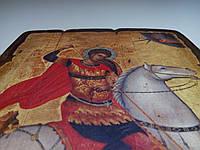 Икона Георгия Победоносца ручная работа