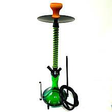 Кальян MAMAY высота 75 см Кальян для курения Кальян для кафе кальян на 1 персону зеленый