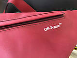 Бананка Off White Rubber Red, фото 2