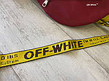 Бананка Off White Rubber Red, фото 4