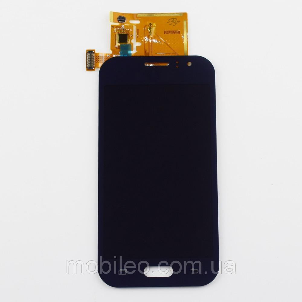 Дисплей для Samsung GH97-17843B моделі j110 Galaxy J1 Ace Amoled з тачскріном, чорний (сервісний оригінал)