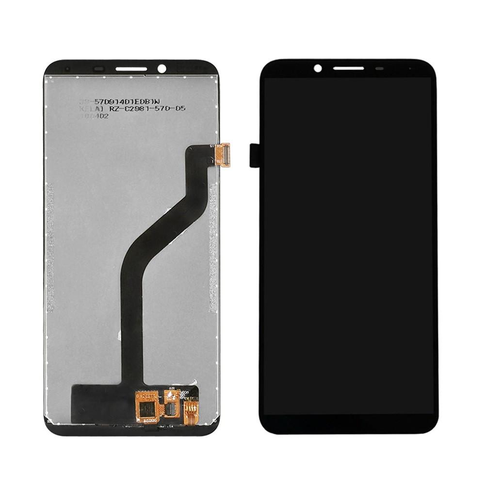 Дисплей для Doogee (HomTom) S8 с тачскрином, черный