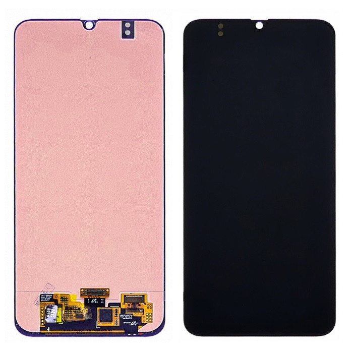 Дисплей для Samsung M305 Galaxy M30 OLED с тачскрином, черный