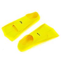Ласти тренувальні із закритою п'ятою жовті PL-7035, S (33-35), фото 1