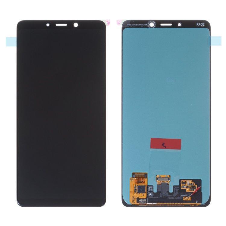 Дисплей для Samsung A920 Galaxy A9 (2018) OLED с тачскрином, черный