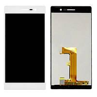 Дисплей для Huawei P7 Ascend | P7-L10 | Sophia-L10 з тачскріном, білий
