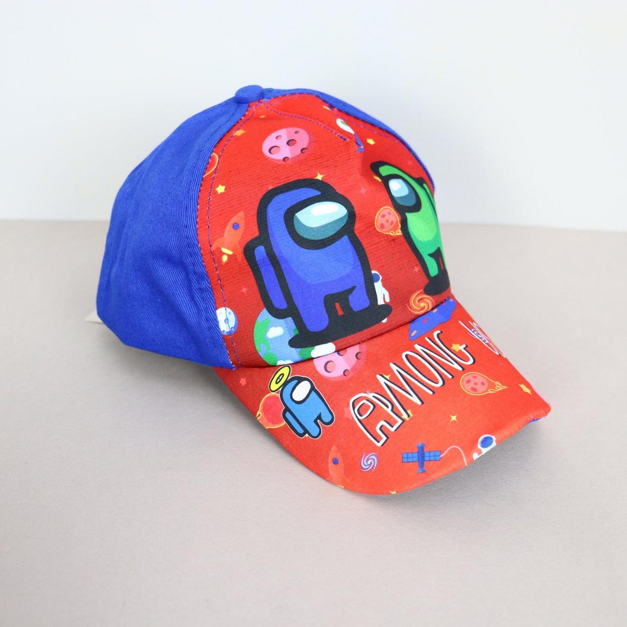 Дитяча кепка AMONG US синя