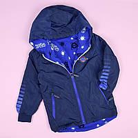 Вітрівка дитяча синя тм SEAGULL розмір 3,4,5 років, фото 1