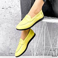 Балетки жіночі Belo жовтий 3206