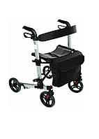 Ходунки на колесах для взрослых и инвалидов Ridder 810-935х630х670мм Черный