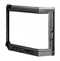 Призматические дверцы для камина Kaw-Met W5 560x690 мм