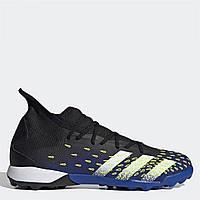 Стоноги adidas Predator Freak .3 Trainers Black/SolYellow - Оригінал, фото 1