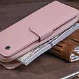 Вертикальный вместительный кошелек из кожи женский ST Leather 19303 Розовый, фото 8
