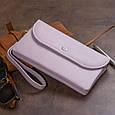 Клатч из кожи женский ST Leather 19322 Лиловый, фото 9