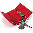 Ключница-кошелек женская ST Leather 19222 Красная, фото 4
