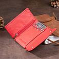 Ключница-кошелек женская ST Leather 19222 Красная, фото 8