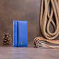 Ключница-кошелек унисекс ST Leather 19225 Синяя, фото 6
