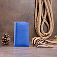 Ключница-кошелек унисекс ST Leather 19225 Синяя, фото 7