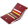 Компактний гаманець жіночий ST Leather 19257 Бордовий, фото 3