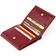 Компактний гаманець жіночий ST Leather 19257 Бордовий, фото 5