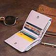 Компактний гаманець жіночий ST Leather 19260 Ліловий, фото 9