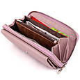 Шкіряний жіночий гаманець ST Leather 19295 Ліловий, фото 3