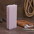 Шкіряний жіночий гаманець ST Leather 19295 Ліловий, фото 10