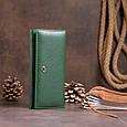 Гаманець на магнітах з клапаном жіночий ST Leather 19240 Зелений, фото 8